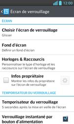 LG Optimus L5 II - Sécuriser votre mobile - Activer le code de verrouillage - Étape 5
