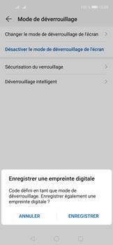 Huawei Nova 5T - Sécuriser votre mobile - Activer le code de verrouillage - Étape 8