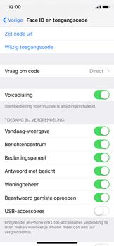 Apple iPhone XS - Beveiliging - stel in of wijzig pincode voor je toestel - Stap 8