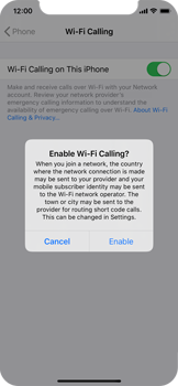 Apple iPhone 11 Pro - WiFi - Enable WiFi Calling - Step 7