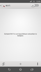 Sony E2003 Xperia E4G - Wifi - handmatig instellen - Stap 5