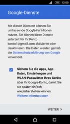 Sony Xperia M5 - E-Mail - Konto einrichten (gmail) - 13 / 17
