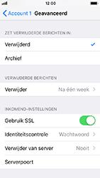 Apple iphone-se-met-ios-12-model-a1723 - E-mail - Handmatig instellen - Stap 23