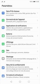 Huawei P20 Pro - Internet et roaming de données - Désactivation du roaming de données - Étape 3