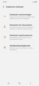 Samsung galaxy-a20e-dual-sim-sm-a202f - Contacten en data - Contacten kopiëren van toestel naar SIM - Stap 6