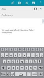 Samsung Galaxy S5 Mini - e-mail - hoe te versturen - stap 5