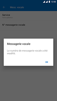 OnePlus 3 - Android Oreo - Messagerie vocale - Configuration manuelle - Étape 12