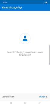 Samsung Galaxy Note 10 Plus 5G - E-Mail - 032c. Email wizard - Outlook - Schritt 10
