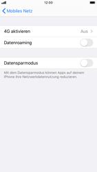 Apple iPhone 7 - iOS 13 - Netzwerk - So aktivieren Sie eine 4G-Verbindung - Schritt 5