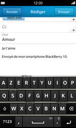 BlackBerry Z10 - E-mail - envoyer un e-mail - Étape 10