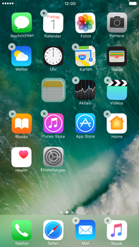 Apple Apple iPhone 7 Plus - Startanleitung - Personalisieren der Startseite - Schritt 4