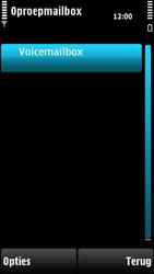 Nokia X6-00 - Voicemail - handmatig instellen - Stap 9