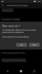 Microsoft Lumia 950 - Appareil - Réinitialisation de la configuration d