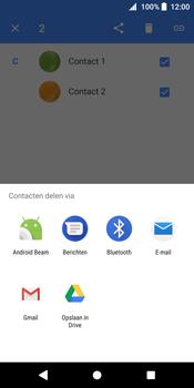 Sony Xperia XZ2 - Contactgegevens overzetten - delen via Bluetooth - Stap 7