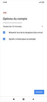Xiaomi RedMi Note 7 - E-mail - configuration manuelle - Étape 19