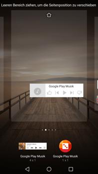 Huawei Mate 9 - Startanleitung - Installieren von Widgets und Apps auf der Startseite - Schritt 8