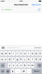 Apple iPhone 6s - MMS - Erstellen und senden - Schritt 9