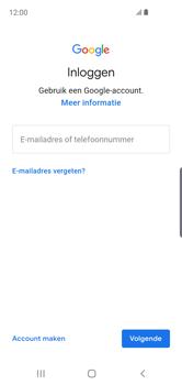 Samsung Galaxy S10e - apps - account instellen - stap 5
