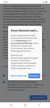 Samsung Galaxy A50 - Apps - Einrichten des App Stores - Schritt 16