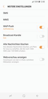 Samsung Galaxy S8 - SMS - Manuelle Konfiguration - Schritt 7