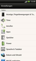 HTC One SV - Fehlerbehebung - Handy zurücksetzen - 2 / 2