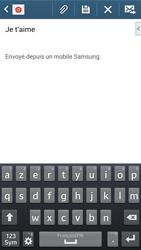 Samsung G386F Galaxy Core LTE - E-mail - envoi d