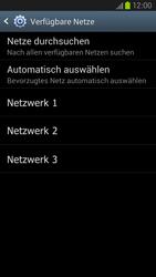 Samsung Galaxy S III LTE - Netzwerk - Manuelle Netzwerkwahl - Schritt 8