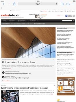 Apple iPad Retina iOS 7 - Internet und Datenroaming - Verwenden des Internets - Schritt 18