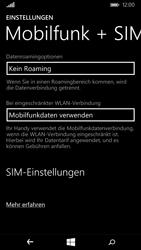 Nokia Lumia 735 - Netzwerk - Netzwerkeinstellungen ändern - Schritt 5