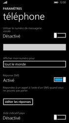Nokia Lumia 830 - Messagerie vocale - configuration manuelle - Étape 9