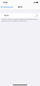 Apple iPhone X - iOS 13 - WiFi - Configurazione WiFi - Fase 4