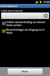 Samsung Galaxy Ace - E-Mail - Konto einrichten - 0 / 0
