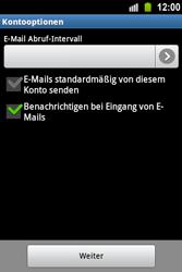 Samsung S5830 Galaxy Ace - E-Mail - Konto einrichten - Schritt 16