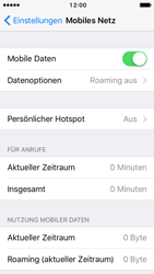 Apple iPhone 5s iOS 10 - Internet und Datenroaming - Manuelle Konfiguration - Schritt 4