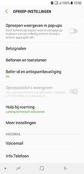 Samsung Galaxy A6 - Voicemail - handmatig instellen - Stap 7