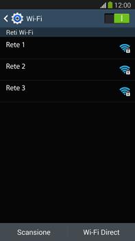 Samsung Galaxy Note III LTE - WiFi - Configurazione WiFi - Fase 6