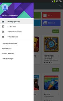 Samsung Galaxy Tab 3 8-0 LTE - Applicazioni - Come verificare la disponibilità di aggiornamenti per l