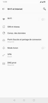 OnePlus 7 - Internet et connexion - Désactiver la connexion Internet - Étape 5
