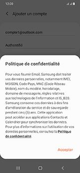 Samsung Galaxy A20e - E-mails - Ajouter ou modifier votre compte Outlook - Étape 12