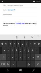Microsoft Lumia 650 - E-mail - Bericht met attachment versturen - Stap 7