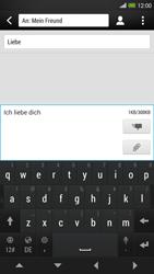 HTC One Max - MMS - Erstellen und senden - 0 / 0