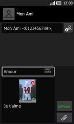 LG P940 PRADA phone by LG - MMS - Envoi d