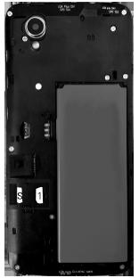 Alcatel 1 - Premiers pas - Insérer la carte SIM - Étape 4
