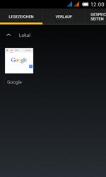 Alcatel One Touch Pop C3 - Internet und Datenroaming - Verwenden des Internets - Schritt 11