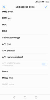 Huawei Mate 10 Pro - Internet and data roaming - Manual configuration - Step 14