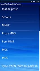 Sony Ericsson Xperia X10 - MMS - configuration manuelle - Étape 11