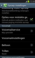Samsung Galaxy S III Mini - voicemail - handmatig instellen - stap 4