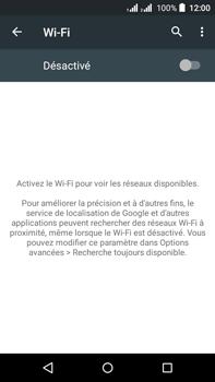 Acer Liquid Z630 - WiFi - configuration du WiFi - Étape 5