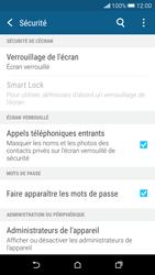 HTC Desire 626 - Sécuriser votre mobile - Activer le code de verrouillage - Étape 5
