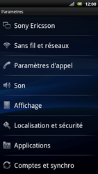 Sony Xperia Neo - MMS - Configuration manuelle - Étape 4